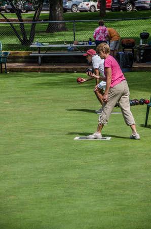 denver parks: Washington Park Lawn Bowling Club 2014 Championships Editorial