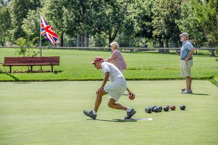 denver parks: Washington Park Lawn Bowling Club 2014 Championships. 2of6