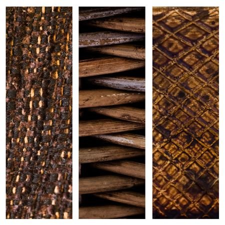 comfy: Brown collage of textures