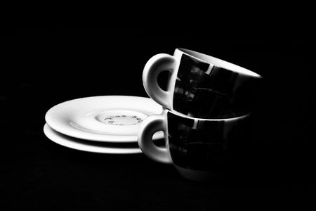 musetti: Cup of coffee isolated