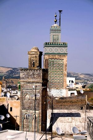 View on Fes, Morocco photo