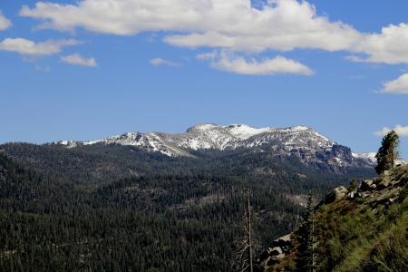 sierras: Sierras at Echo Lake Stock Photo