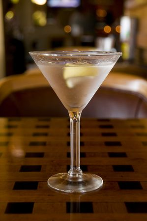 twist: Martini with a Twist with Restaurant BG--nice bokay