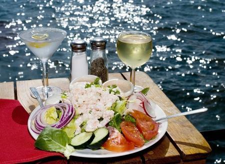 Dining on the Bay