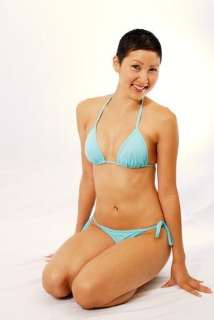 Lovely Asian Bikini Model