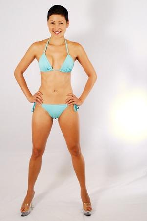Asian Bikini Girl Stock Photo - 9367929
