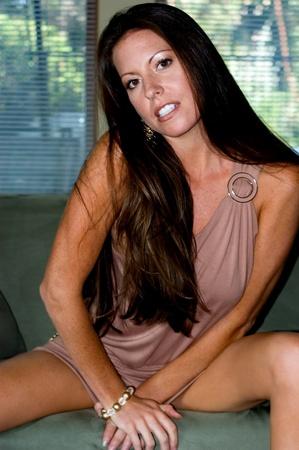 highfashion: High-Fashion Model Portrait Stock Photo
