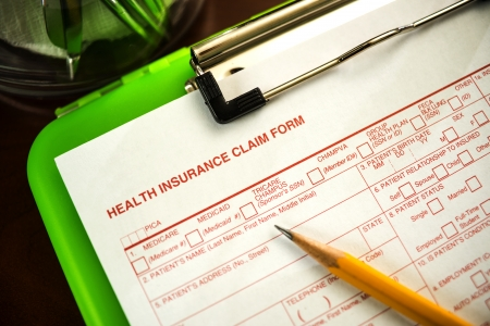 Health Insurance Claim Form - Shallow DOF photo