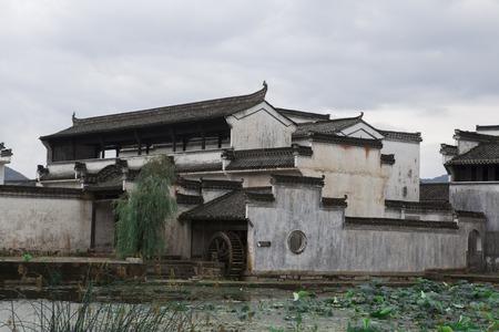 stillness: Chinese ancient architecture: village