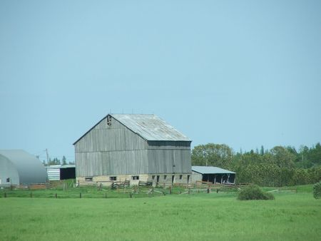 Old Barn in Canada