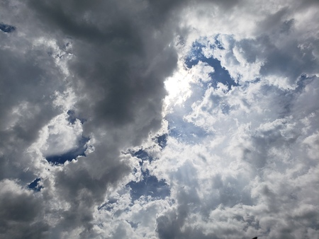 Sky and clouds Imagens