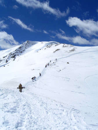 back country: Back Country Snowboarding