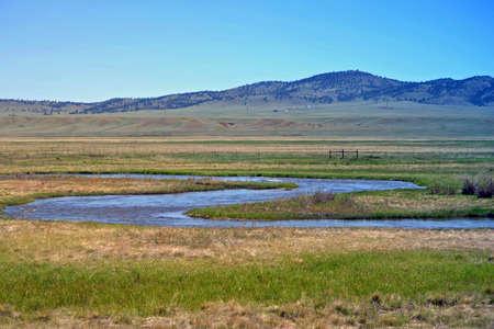 12 o'clock: Mountain Snake River