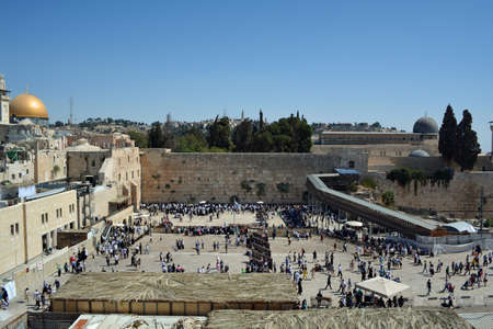 tabernacles: Wailing Wall
