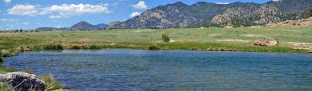 mile: 10 Mile Reservoir Stock Photo