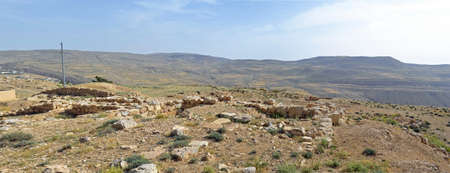 tel: Bozrah Tel Stock Photo