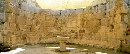 poppet: Ancient church in Emmaus, Israel