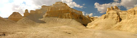wasteland: The barren wasteland of the ancient cities on the plains Israel.