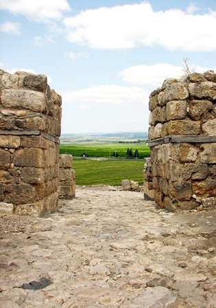 City Gate of Megiddo, Israel