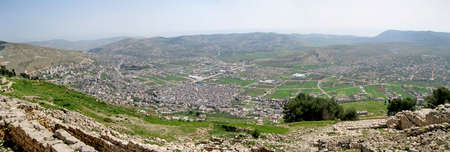 City of Shechem Israel
