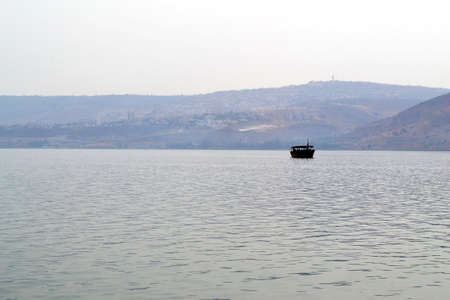 the gospels: Boating on the Sea of Galilee