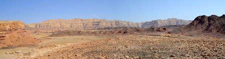 timna: Beautiful landscape of Southern Israel.