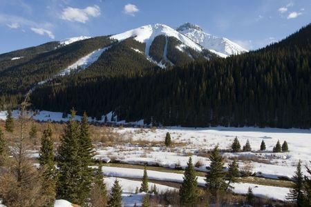 Mountain Range in Colorado