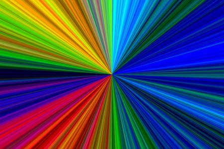 Abstract Multicolor Starburst Texture