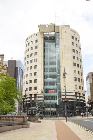 exceptional: 1 City Square Office Building in City Square Leeds.  Example of exceptional modern architecture used in modern office building design in the city.