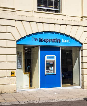 협동 조합 은행 지점 에디토리얼