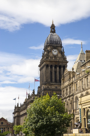 births: Leeds, Yorkshire Town Hall Clock