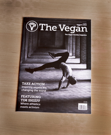 the existing: The Autumn 2015 edition of the Vegan Society. The Vegan Society is a global organisation supporting existing and future people to maintain a whole food plant based diet.