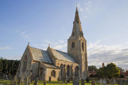 churchyard: Leasingham Church
