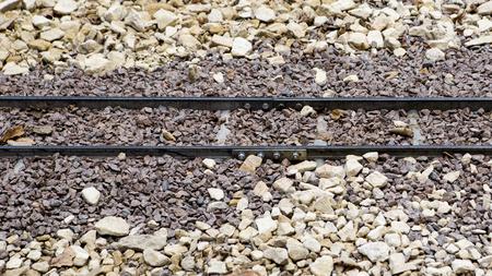 Narrow Gauge Miniature Train Track 版權商用圖片