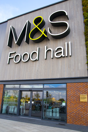 MS Food Hall in York. Supermarket Chain