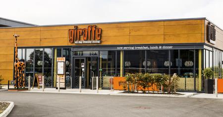 Giraffe Restaurant Cafe