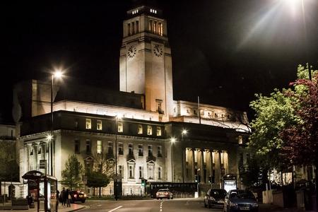 LEEDS, UK - 22 APRIL 2017.  Leeds University Parkinson Building Redakční