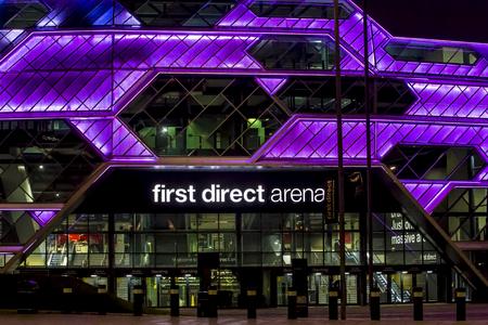 LEEDS, UK - 22 APRIL 2017.  Leeds First Direct Arena