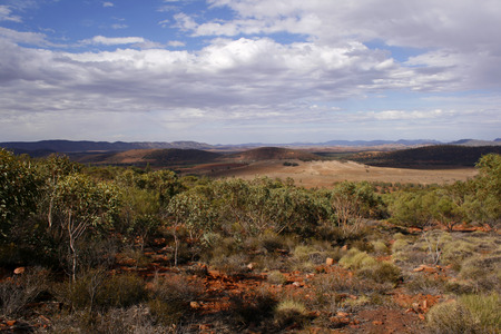 flinders: The desert landscape of the Flinders Ranges, South Australia