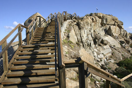 raised viewpoint: A stairway to heaven in South Australia