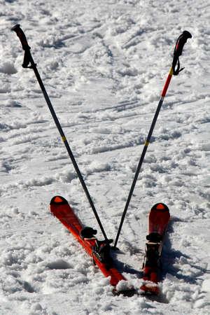 fun day: The end of a fun day skiing