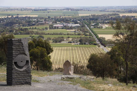 viewpoint: Viewpoint over the Barossa Valley South Australia
