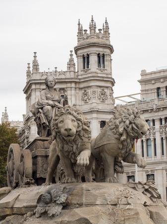 cibeles: Madrid Cibeles square