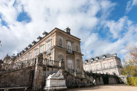old royal palace of La Granja, in Segovia, copy of the gardens of Versallles