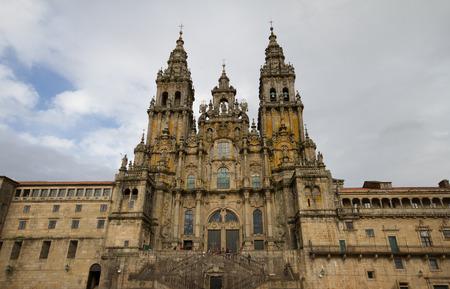 Cathedral of Santiago de Compostela 写真素材
