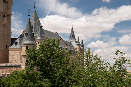 Alcazar of Segovia ormer royal residence in the middle ages