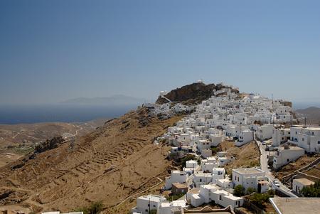 cycladic: L'insediamento con particolare architettura cicladica