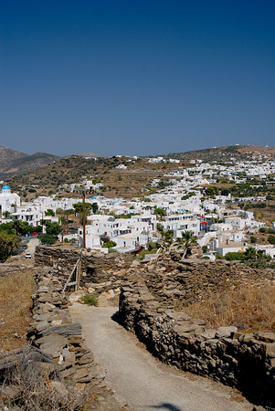 white washed: Fascinates with its beautiful architecture and the white washed houses - Sifnos Cyclades