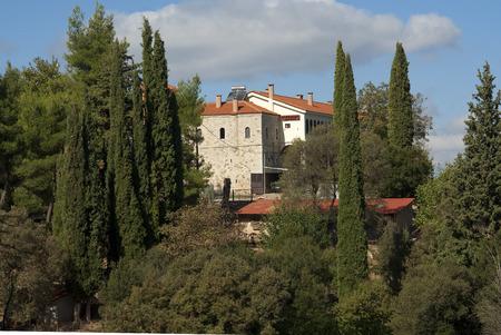 monasteri: Agia Lavra; uno dei maggior parte dei monasteri storici della Grecia a Kalavryta.