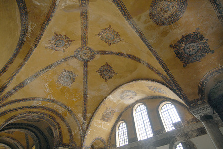 hagia sophia: Mosaic, Byzantine, Hagia Sophia, Conceptual Symbol, Concepts And Ideas
